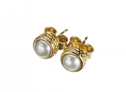 Pearl earrings Bora Bora